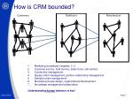 how is crm bounded
