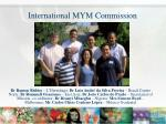 international mym commission