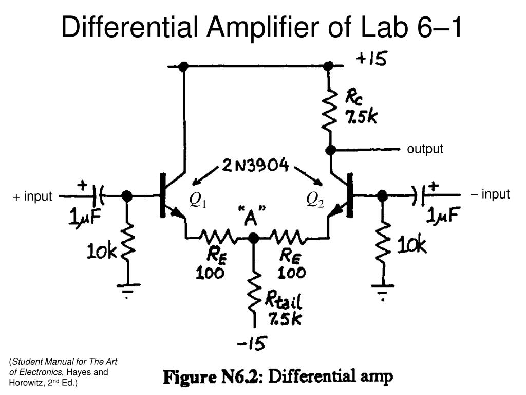 ppt - differential amplifiers powerpoint presentation
