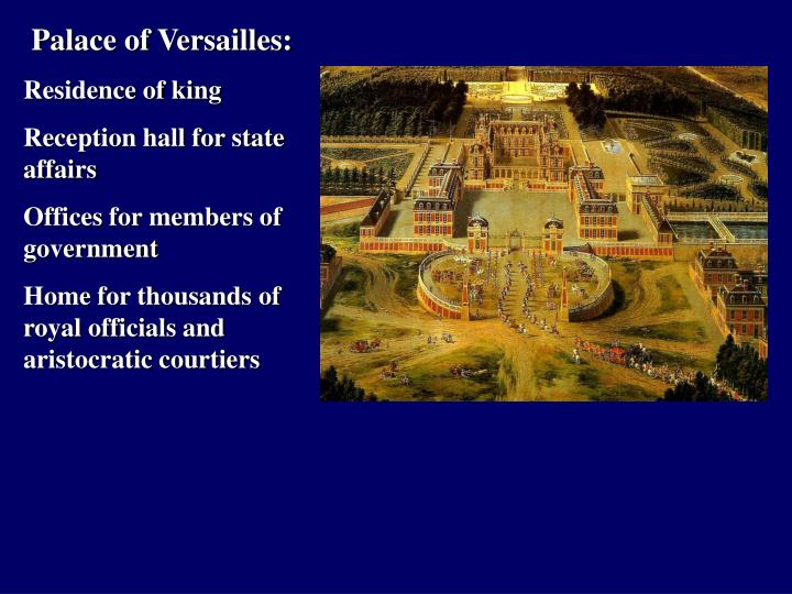 Palace of Versailles: