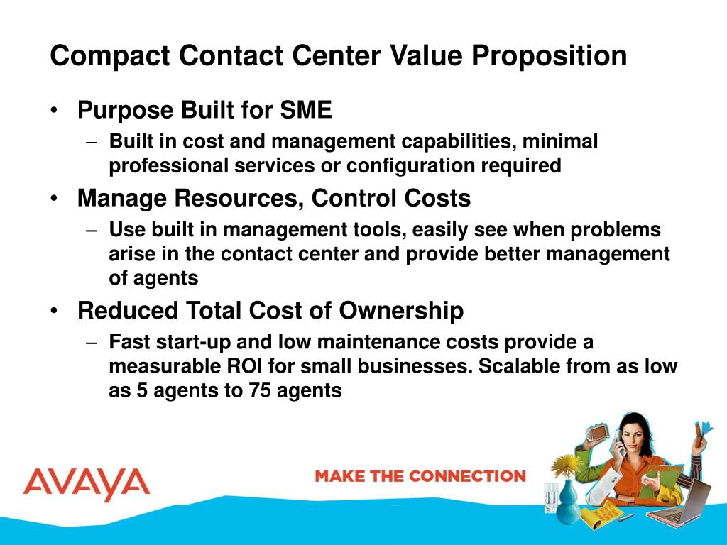 Compact Contact Center Value Proposition