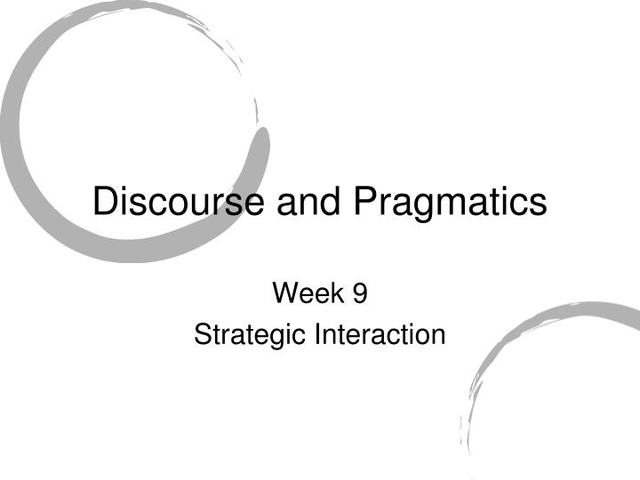 politeness and pragmatics in the context of Pragmatic of politeness politeness is a topic on wich people have very different opinions ( and people in this case,includes linguistic scholars and for example,speakers who see themselves as lower status in english - speaking contexts tend to mark social distance between themselves and.