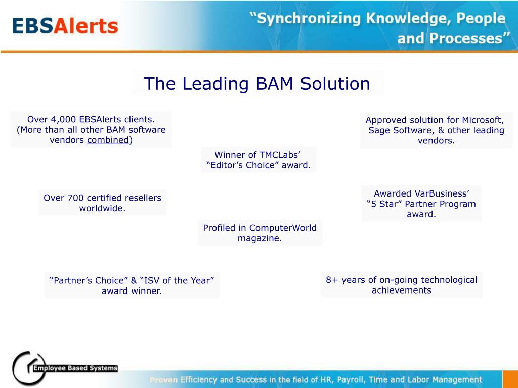 The Leading BAM Solution