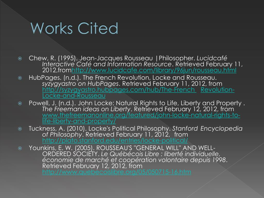 Ppt John Locke And Jean Jacques Rousseau Powerpoint