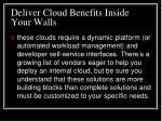 deliver cloud benefits inside your walls66