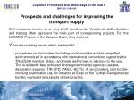 prospects and challenges for improving the transport supply1