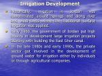 irrigation development