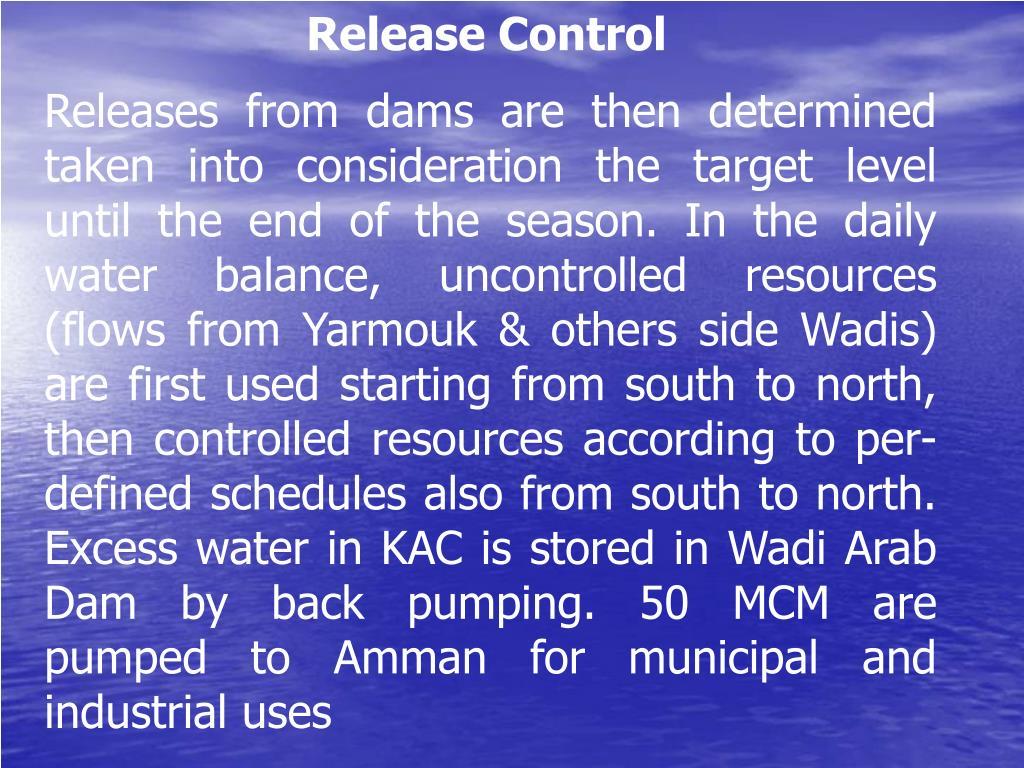 Release Control