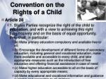 convention on the rights of a child