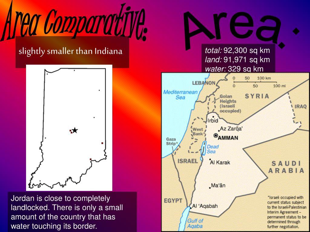 Area Comparative: