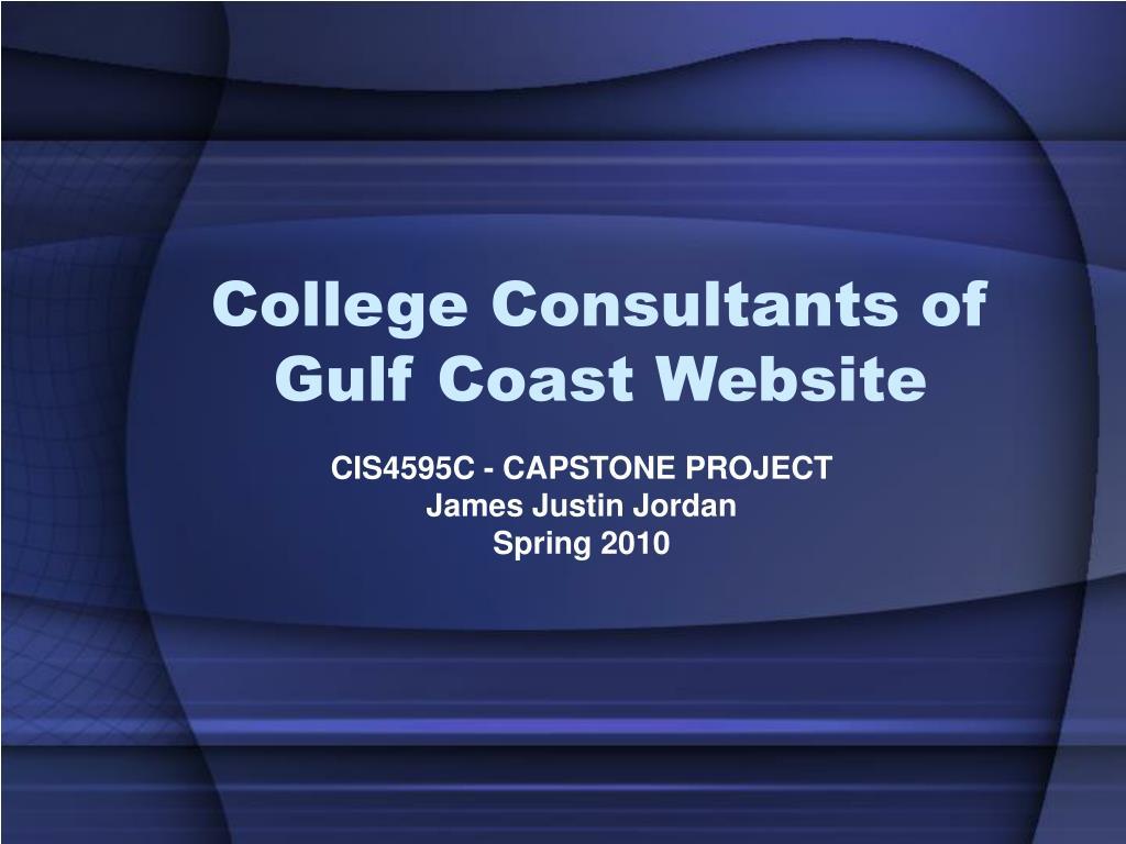 College Consultants of Gulf Coast Website