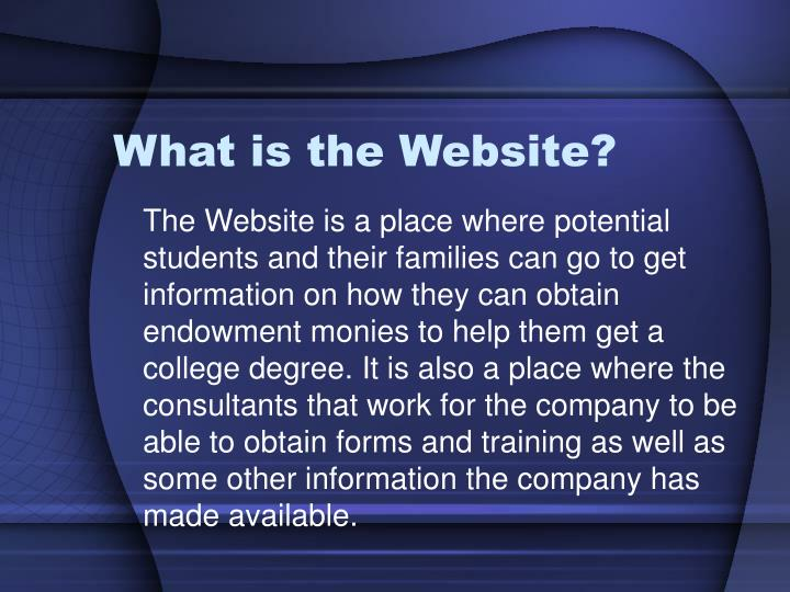 What is the website