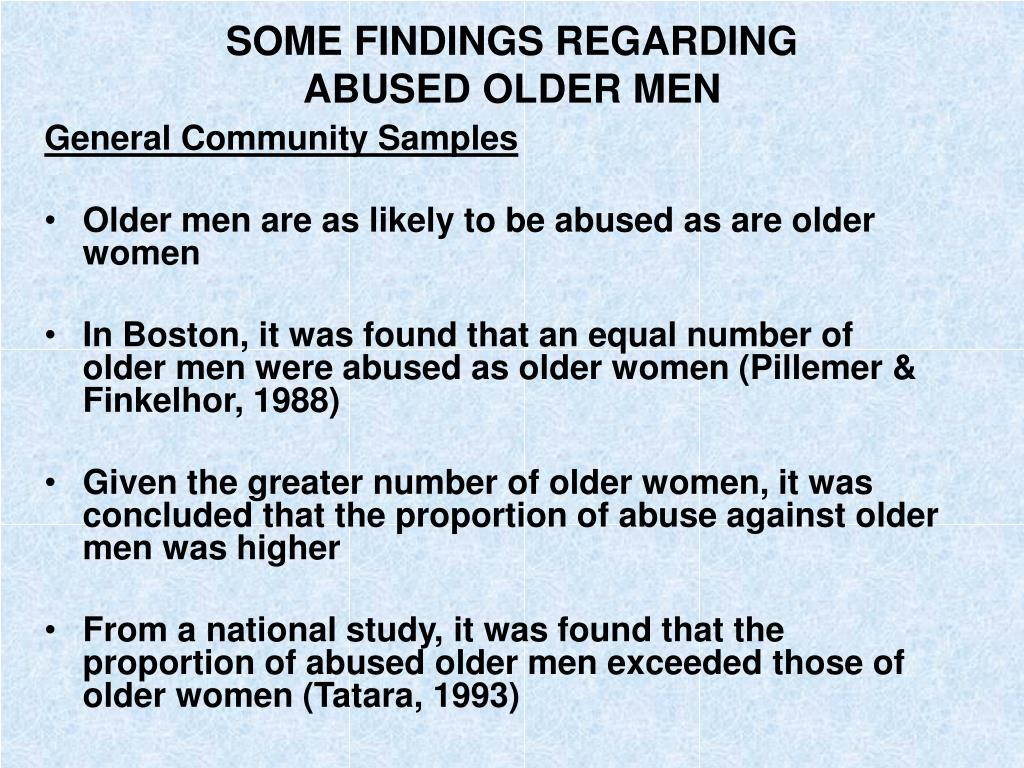 SOME FINDINGS REGARDING