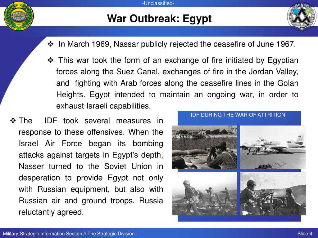 War Outbreak: Egypt