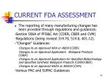 current fda assessment15