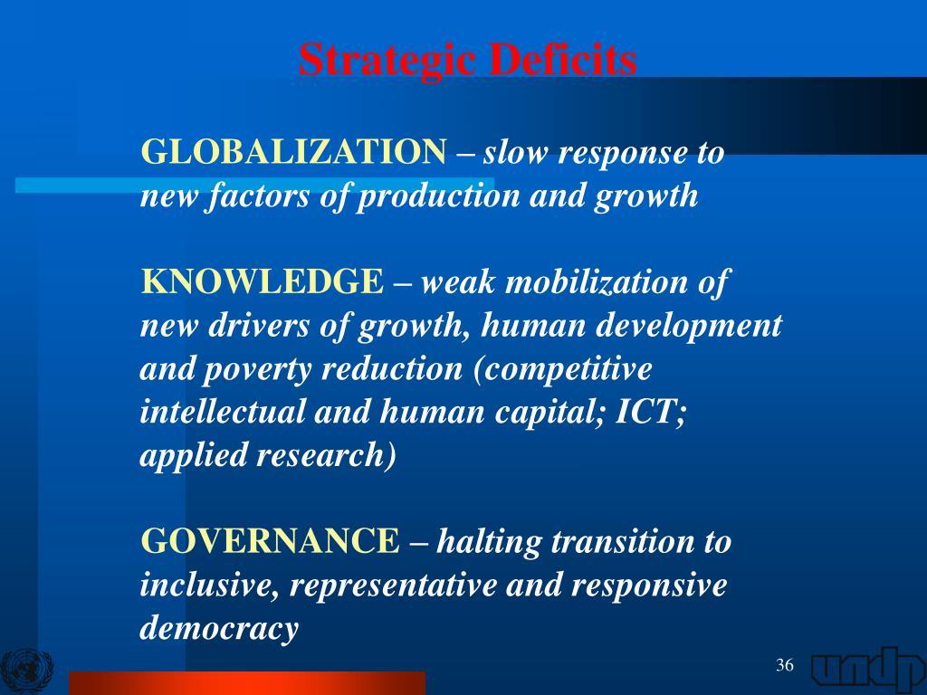 factors inhibiting globalisation