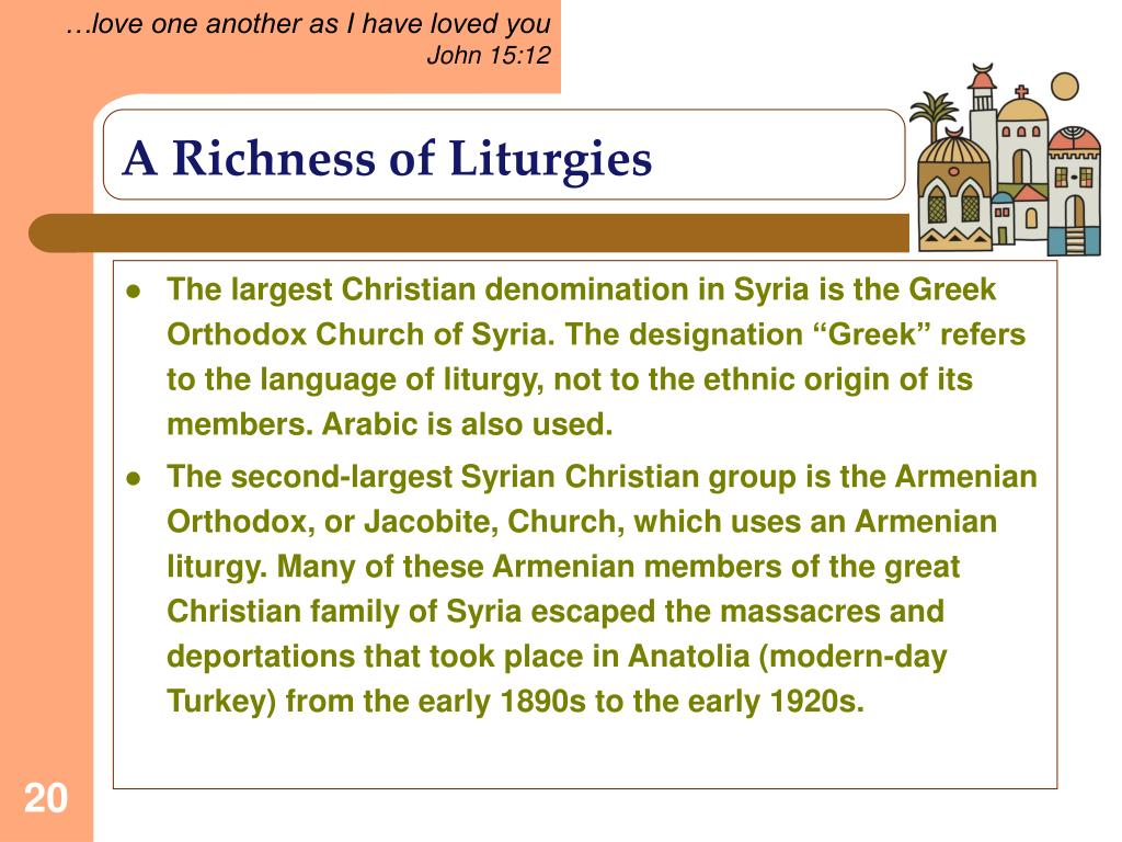 A Richness of Liturgies