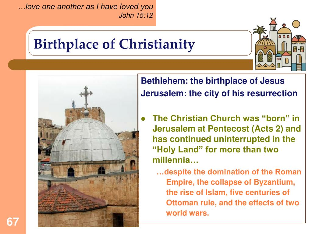 Birthplace of Christianity