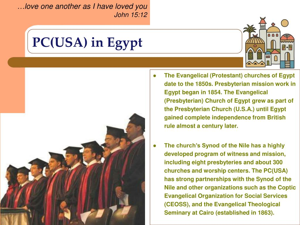 PC(USA) in Egypt