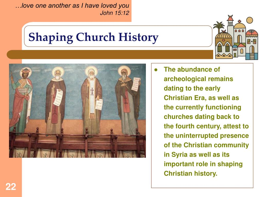 Shaping Church History