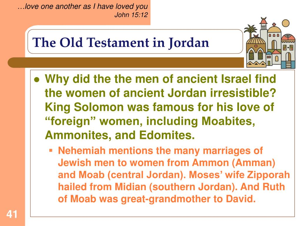 The Old Testament in Jordan