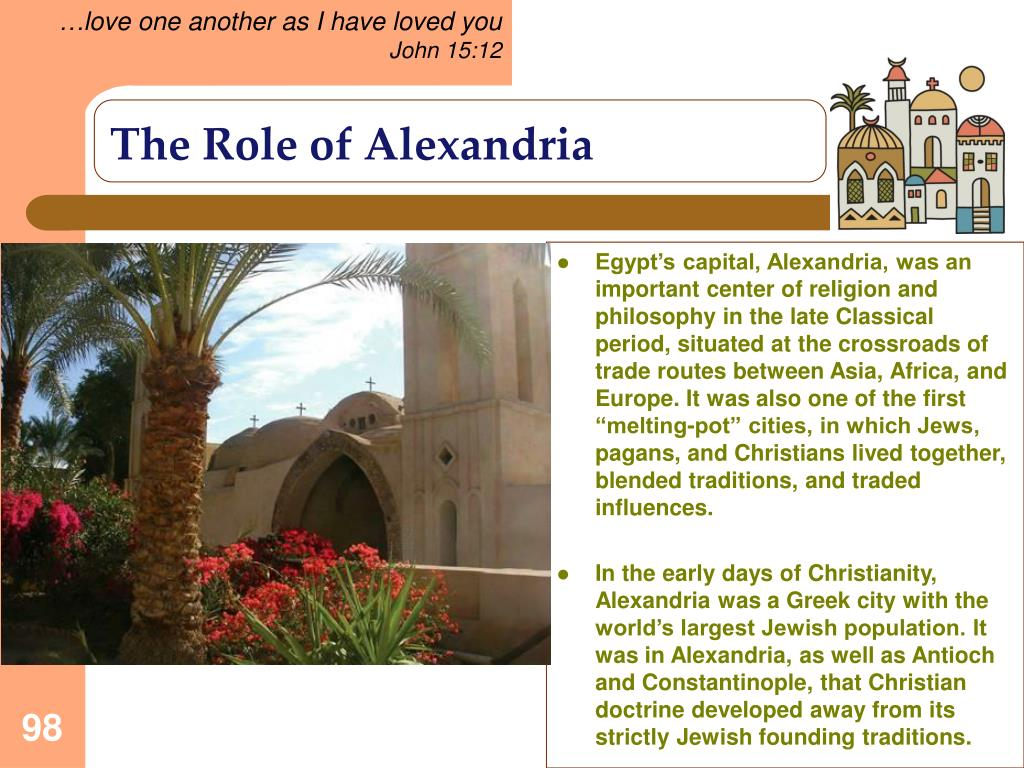 The Role of Alexandria