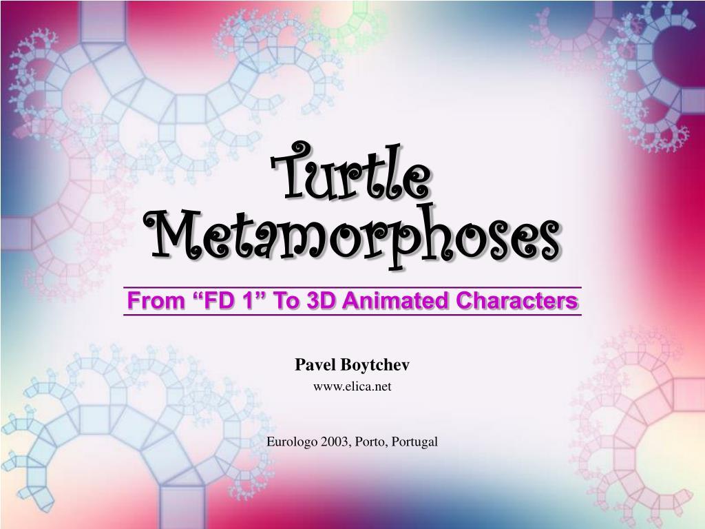 turtle metamorphoses l.