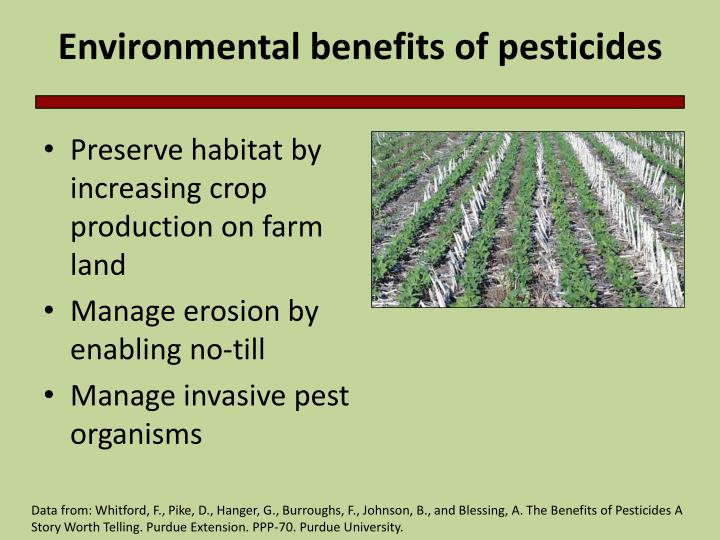 Ppt environmental degradation and pesticides powerpoint environmental benefits of pesticides toneelgroepblik Gallery