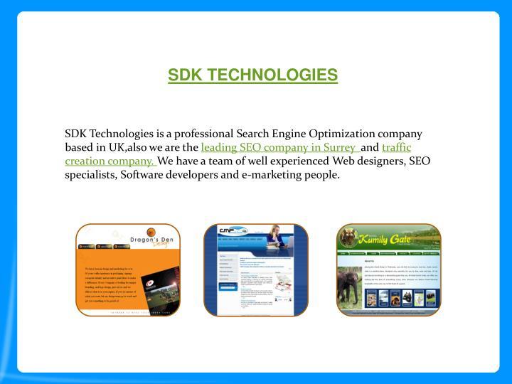 Sdk technologies
