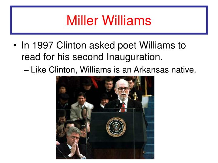 Miller Williams