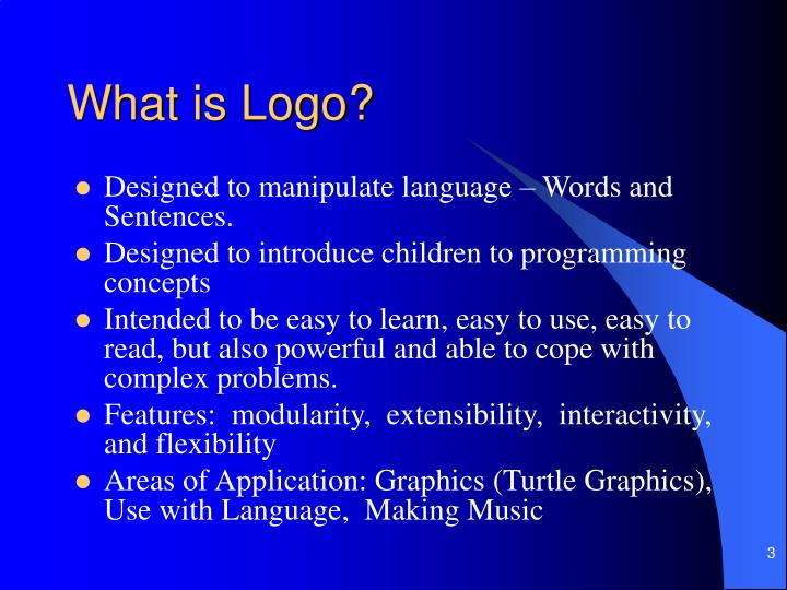 What is logo