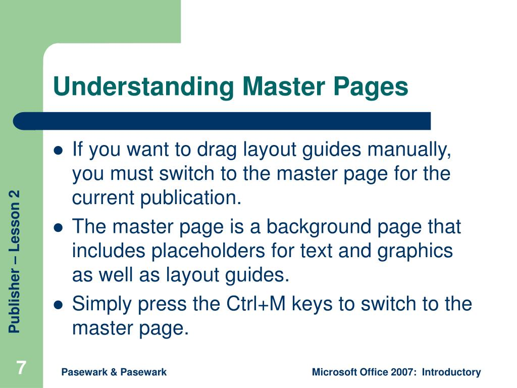 Understanding Master Pages
