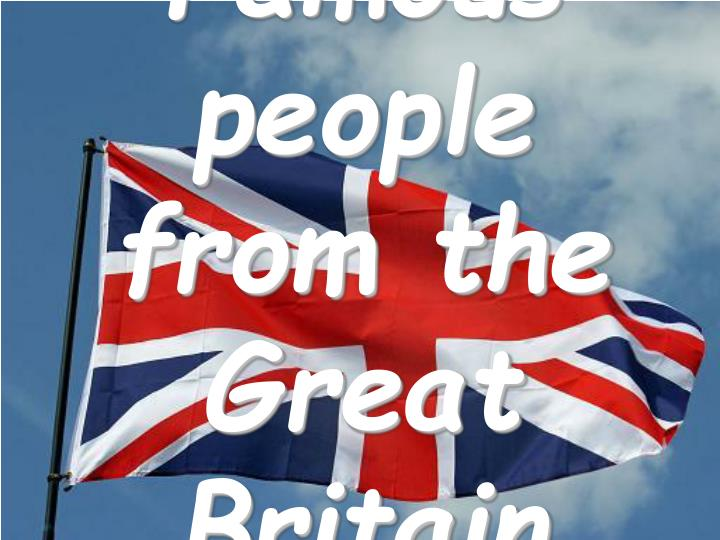 Famous British People - Biography