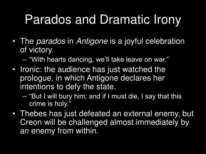 dramatic irony in antigone