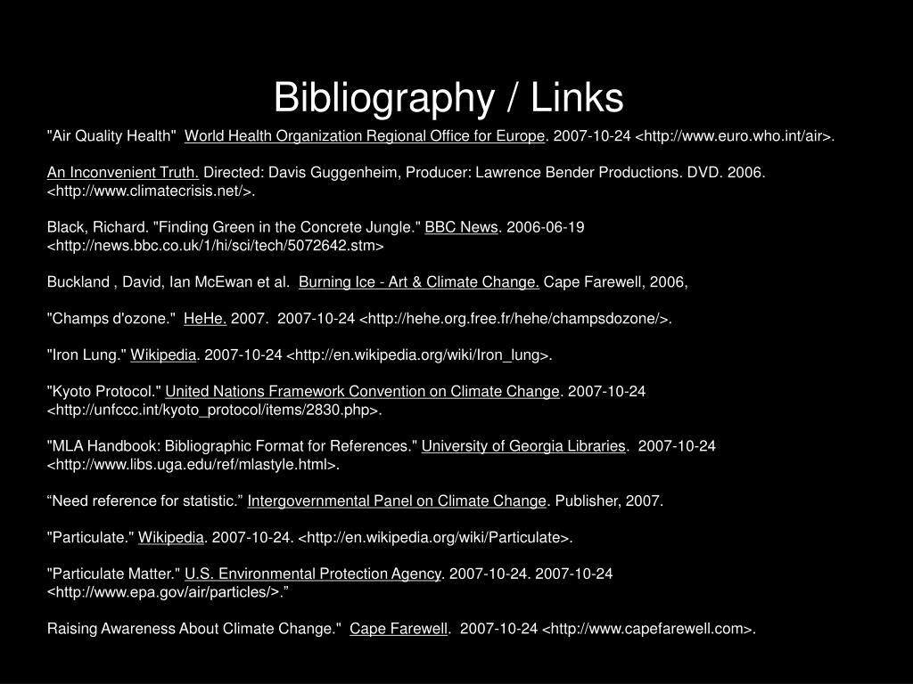 Bibliography / Links