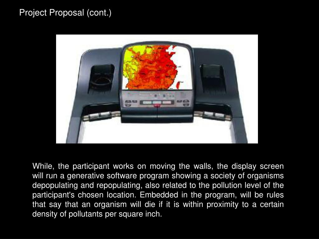 Project Proposal (cont.)