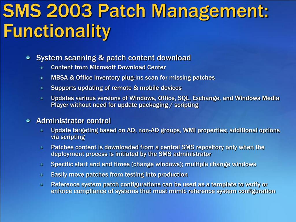 PPT - Patch Management Tools PowerPoint Presentation - ID:976281