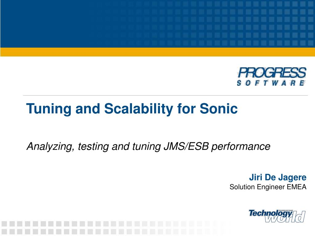 tuning and scalability for sonic l.