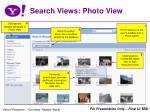 search views photo view
