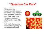 question car park
