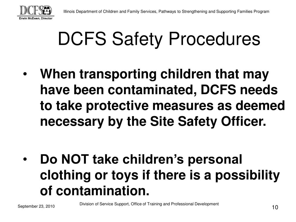 DCFS Safety Procedures