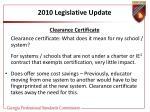 2010 legislative update28