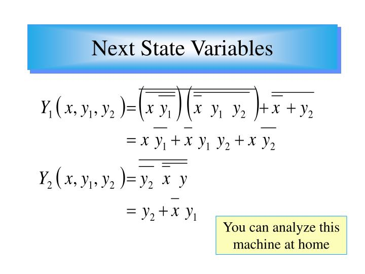 Next State Variables