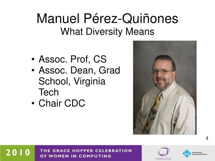 Manuel Pérez-Quiñones