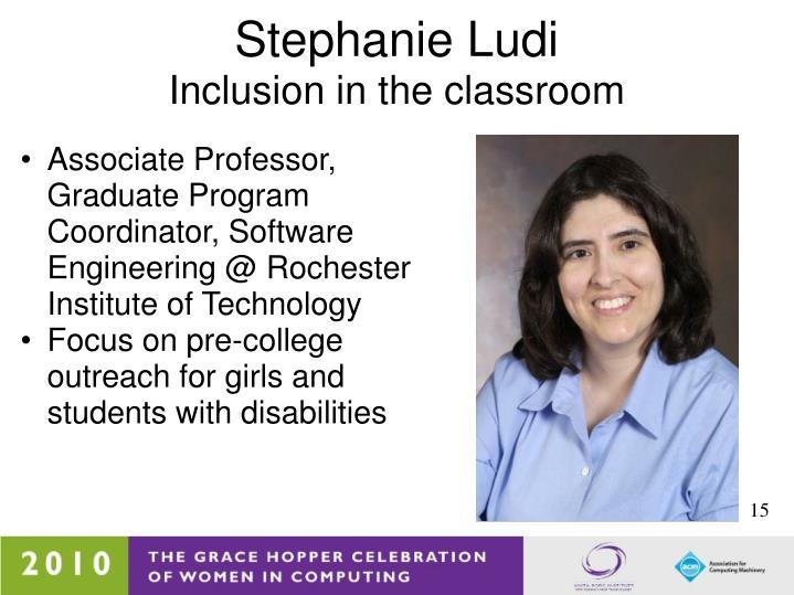 Associate Professor, Graduate Program Coordinator,Software Engineering @ Rochester Institute of Technology