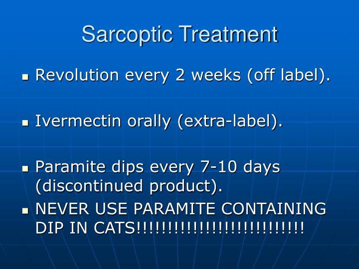 Sarcoptic Treatment