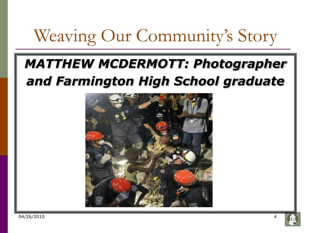 Weaving Our Community's Story