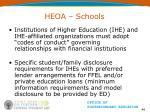 heoa schools