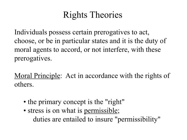 Rights Theories