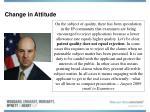 change in attitude8